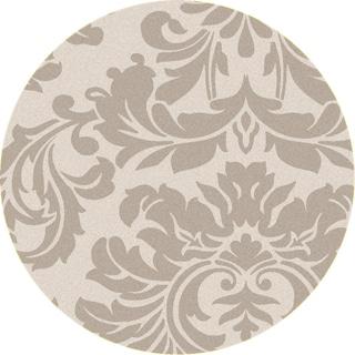 "Hand-tufted Bay Leaf Modena Wool Rug (9'9"" Round)"