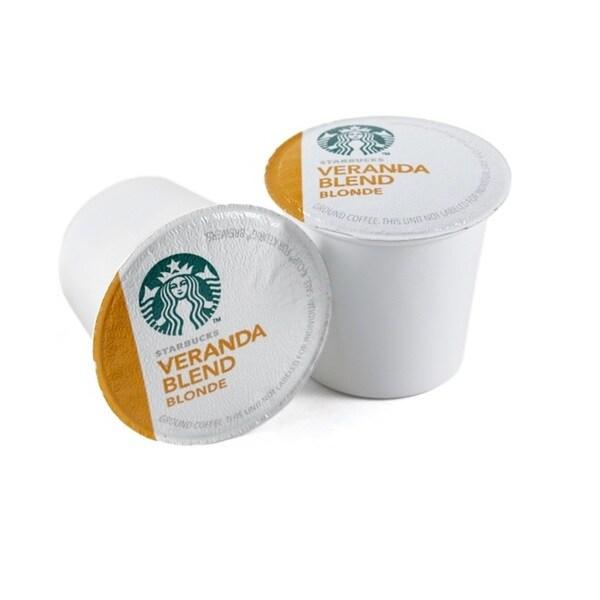 Starbucks 96 Veranda Blend Blonde Coffee K-Cups for Keurig Brewers