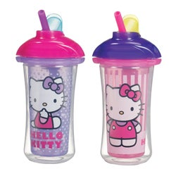 Munchkin Hello Kitty Click Lock Insulated Straw Cup