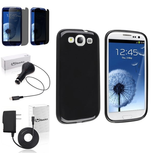 BasAcc Case/ Screen Protector/ Chargers for Samsung© Galaxy SIII/ S3