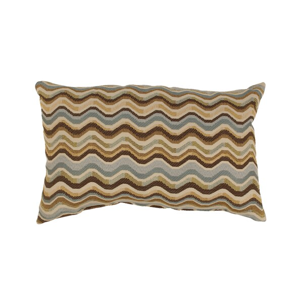 Wave Breeze Rectangular Throw Pillow