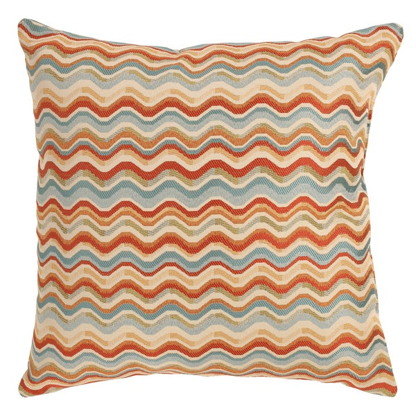 Wave Multicolored 23-Inch Floor Pillow