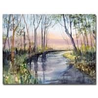 Ryan Radke 'River Reflections' Canvas Art