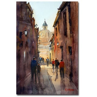 Ryan Radke 'Rome' Canvas Art
