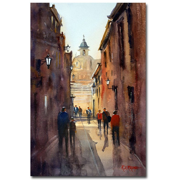 Ryan Radke 'Rome' Canvas Art - Multi