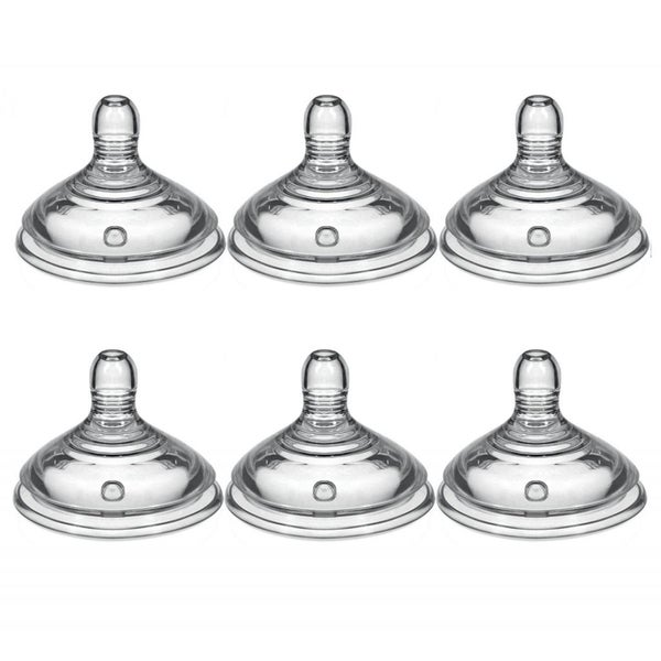 Tommee Tippee Closer to Nature Slow Flow Nipples (Pack of 6)