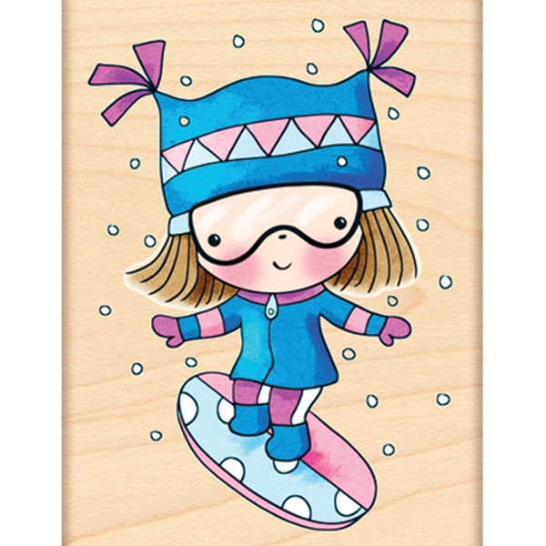 Penny Black Rubber Stamp-Extreme Mimi