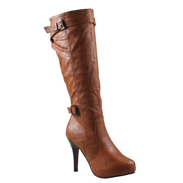 Refresh Women's 'Lana' Knee-high Boots