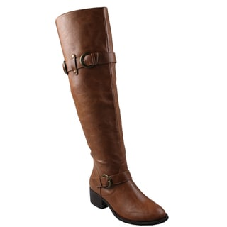 Refresh Women's 'Leslie' Over-the-Knee Riding Boots