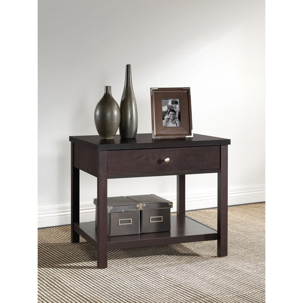 Nashua Brown Modern Nightstand