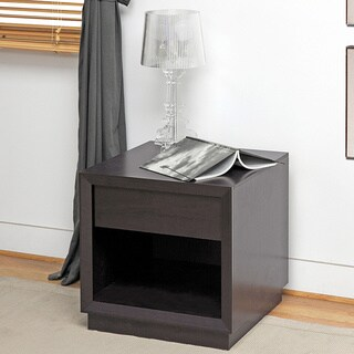 Baxton Studio Girvin Brown Modern Accent Table and Nightstand