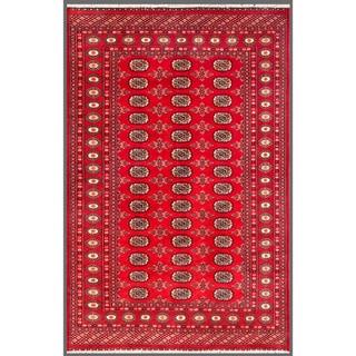 Herat Oriental Pakistani Hand-knotted Bokhara Wool Rug (5'1 x 7'10)