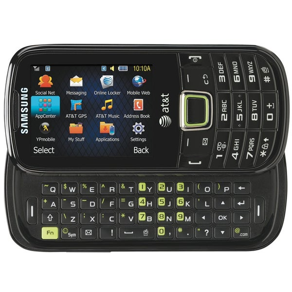 Samsung Evergreen A667 Unlocked GSM 3G Slider Cell Phone