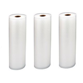 "Realtree Vacuum Sealer Bags, 11"" x 18' Roll 3-Pack"