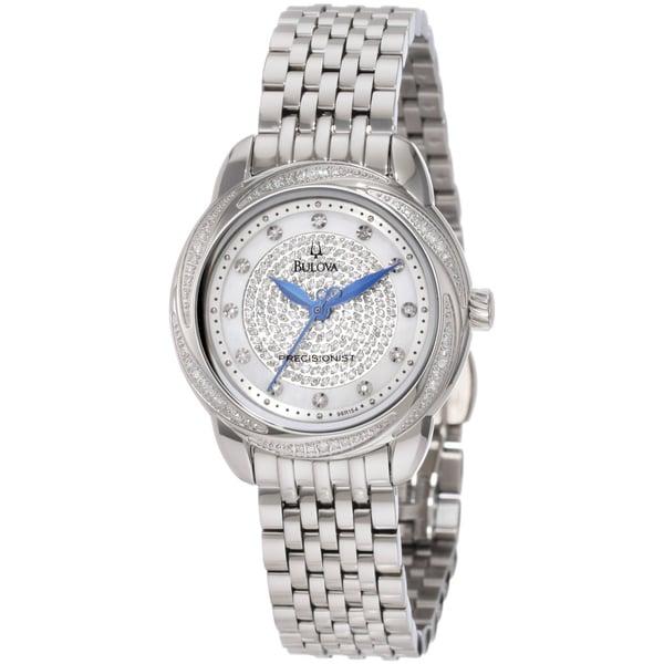 Bulova Women's 96R154 Steel Precisionist Brightwater Watch