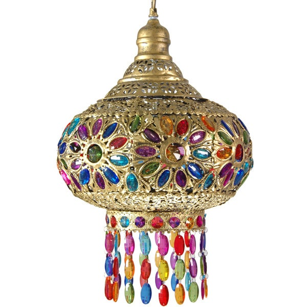 Dome of Jewels Hanging Lamp (China)