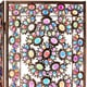 Tall Winter and Spring 5.5-foot Jeweled Room Divider (China)