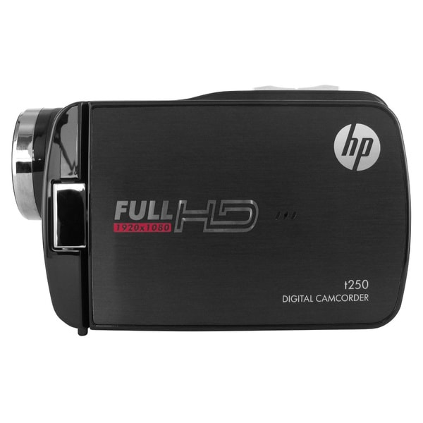 """HP t250 Digital Camcorder - 3"""" - Touchscreen LCD"""