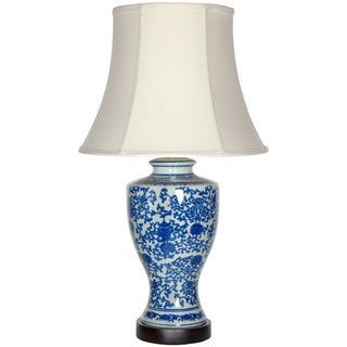Handmade Victorian Design Porcelain Lamp (China)
