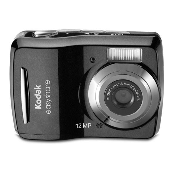 Kodak EasyShare C1505 12MP Black Digital Camera with 8GB Bundle