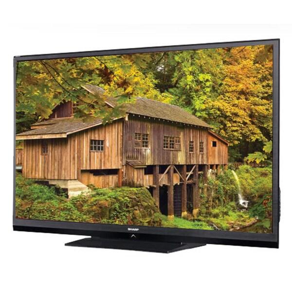 "Sharp AQUOS LC60C6400U 60"" 1080p LED TV with WiFi and Smart TV (Refurbished)"