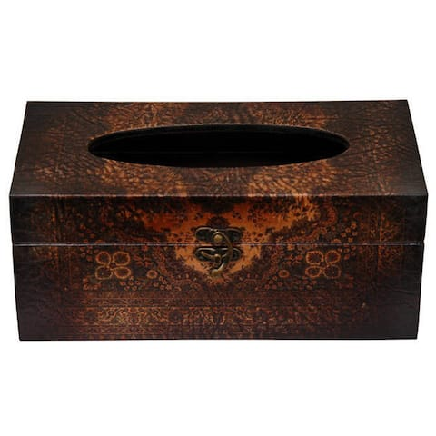 Olde-Worlde European Tissue Box (China)
