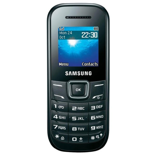 Samsung Keystone 2 E1205 Unlocked GSM Extreme Durability Cell Phone - Black