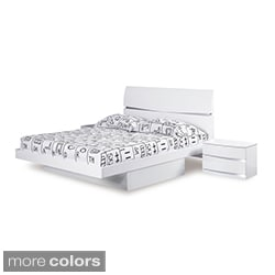 Aurora Storage Drawers Queen-size Bed
