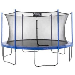 Upper Bounce 16-foot Trampoline with Enclosure|https://ak1.ostkcdn.com/images/products/7628408/P15047569.jpg?impolicy=medium
