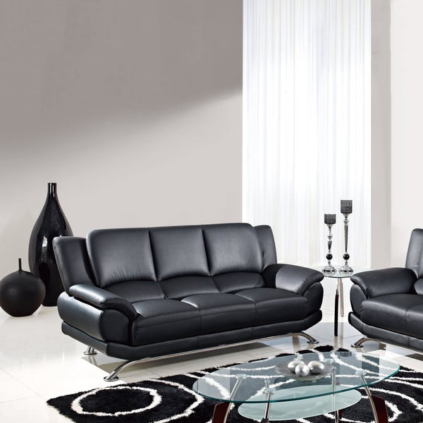 U9908 Bonded Leather Sofa - Free Shipping Today - Overstock.Com