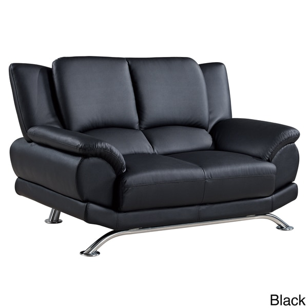U9908 Bonded Leather Loveseat