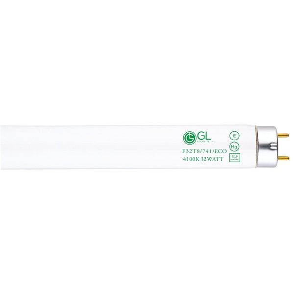 Goodlite F32T8/741/ECO 32W 48-inch T8 Fluorescent Tube Lights Cool White 4100k (Pack of 30)