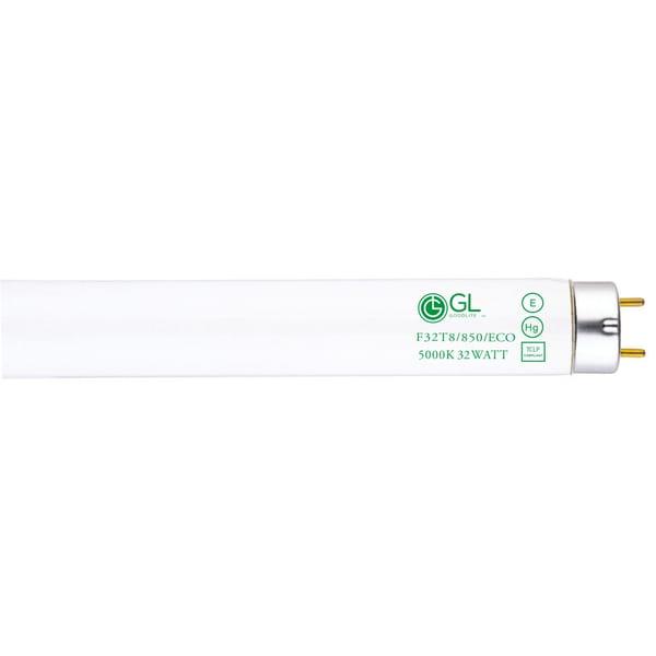 Goodlite F32T8/850/ECO 32W 48-inch T8 Fluorescent Tube Lights Super White 5000k (Pack of 30)