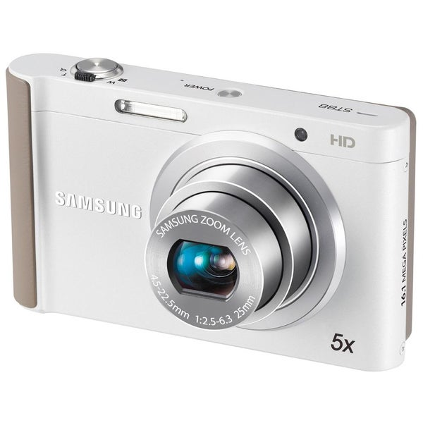 Samsung ST88 16.1MP White Digital Camera