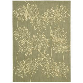Capri Sage Wool-blend Rug (5'3 x 7'5)