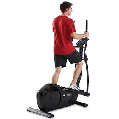 XTERRA Fitness FS2.5 Dual-action Black Elliptical Workout Machine