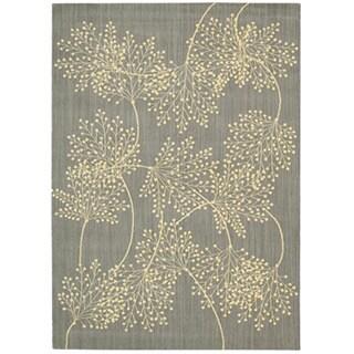 Capri Slate Wool-blend Rug (3'6 x 5'6)