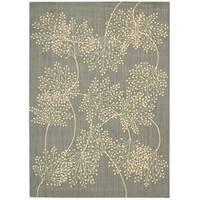 Capri Slate Wool-blend Rug (3'6 x 5'6) - 3'6 x 5'6