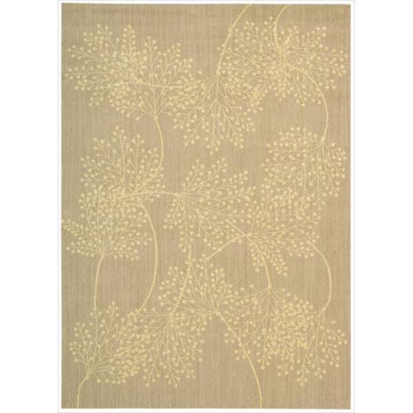 Capri Sand Wool-blend Rug - 5'3 x 7'5