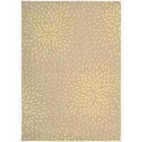 Capri Beige Wool-blend Rug (7'9 x 10'10)