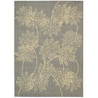 Capri Slate Wool-blend Rug (5'3 x 7'5)
