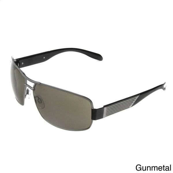Hot Optix Men's Large Metal Aviator Sunglasses
