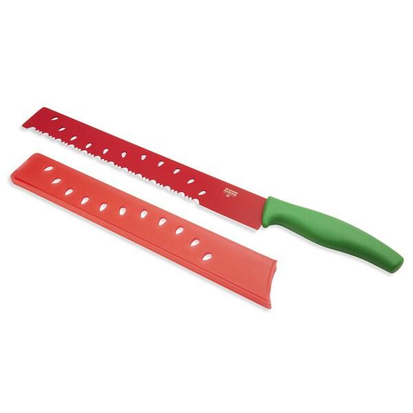 Kuhn-Rikon Colori 11-inch Melon Knife with Sheath