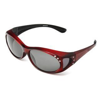 f7d8129834 Hot Optix Women s Jeweled Over-the-glass Polarized Sunglasses