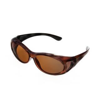 69af28603df Hot Optix Women s Polarized Over-the-Glass Wrap Sunglass