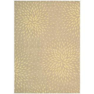 Capri Beige Wool-blend Runner Rug (3'6 x 5'6)