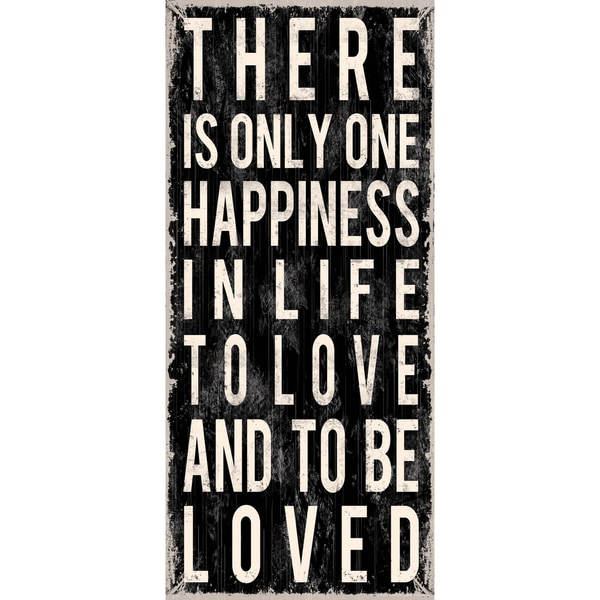 Louise Carey 'There Is Only Happiness'  Paper Print (Unframed)