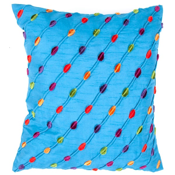 Multicolored Square Pillows (Set of 2)