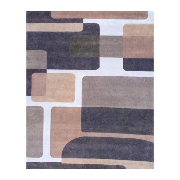 Shop Handmade Herat Oriental Indo Tibetan Wool Rug India 8 X 10