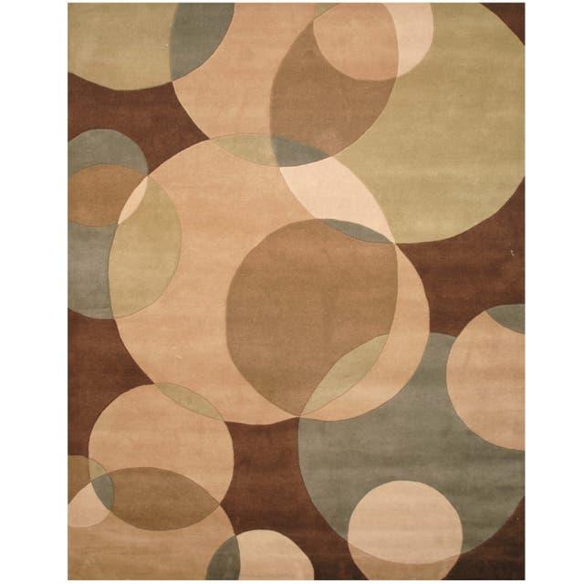 Herat Oriental Indo Tibetan Wool Rug - 8' x 10'